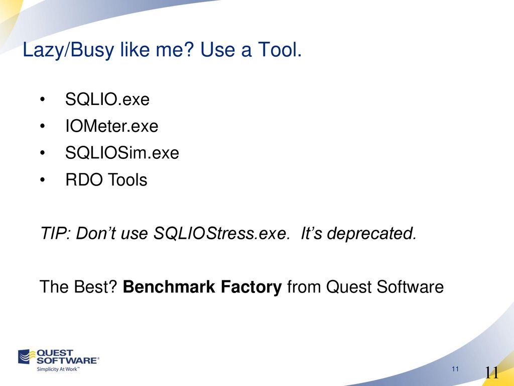 Performance Baselining, Benchmarking and Monitoring - ppt