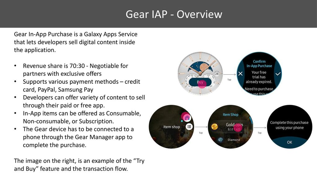 Monetize your Gear Apps – - ppt download