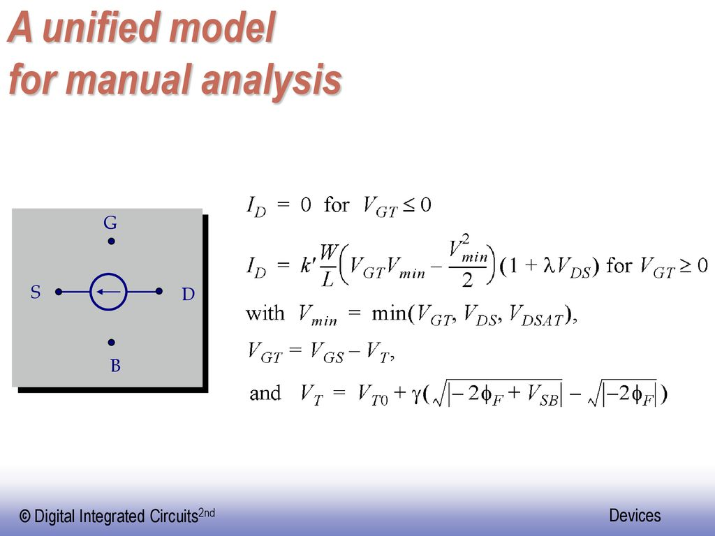 EE141 Chapter 3 VLSI Design The Devices March 28, ppt download