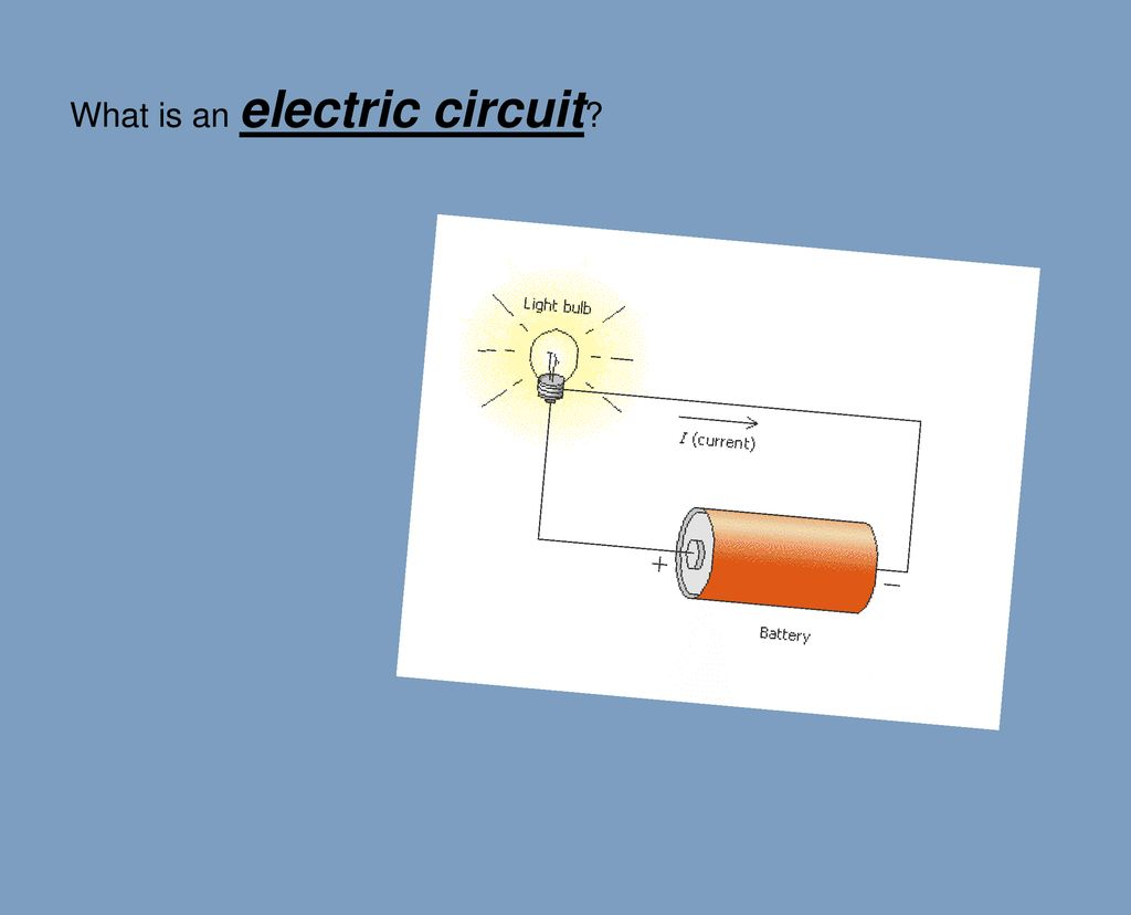 What is an electric circuit? - ppt download