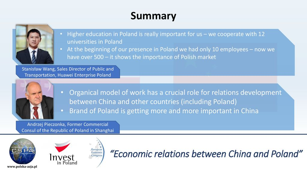 Economic relations between China and Poland