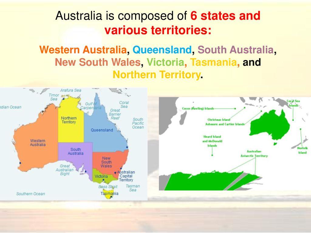 Australia Map 6 States.Australia Ppt Download