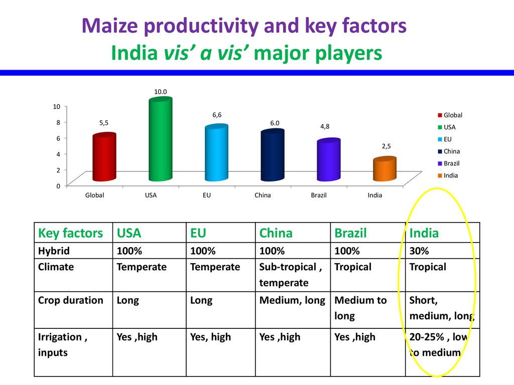 Maize research in India: challenges and opportunities - ppt