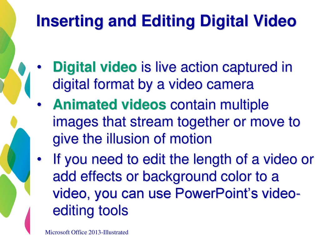 Inserting Graphics, Media, and Objects - ppt download
