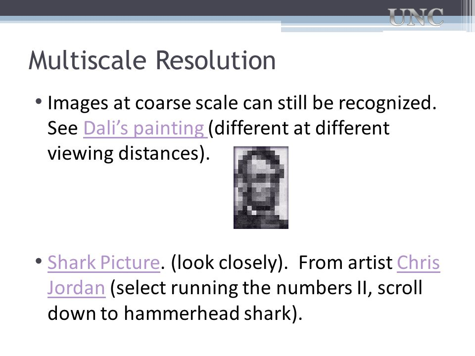 Multiscale Resolution