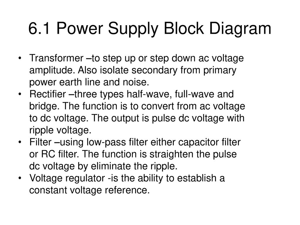6 0 Voltage Regulators  - ppt download