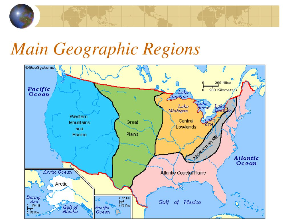 Central Lowlands Us Map US History Unit 1 Geography.   ppt download