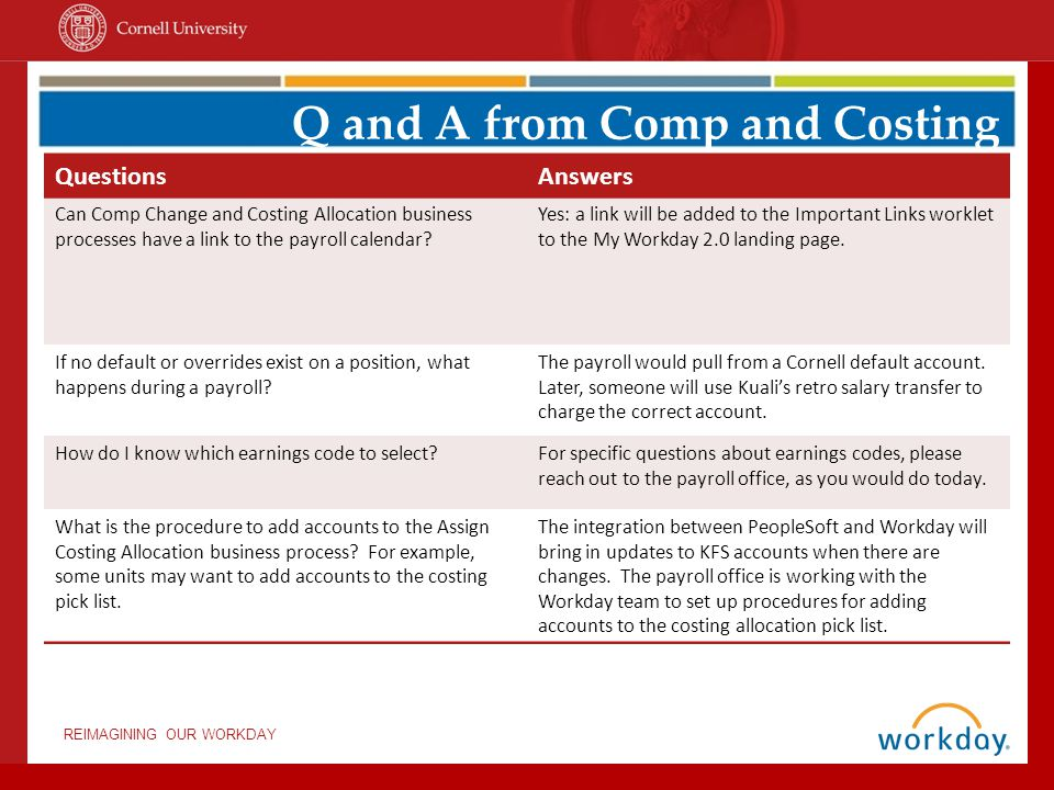 Workday Training Questions And Answers Ppt Download