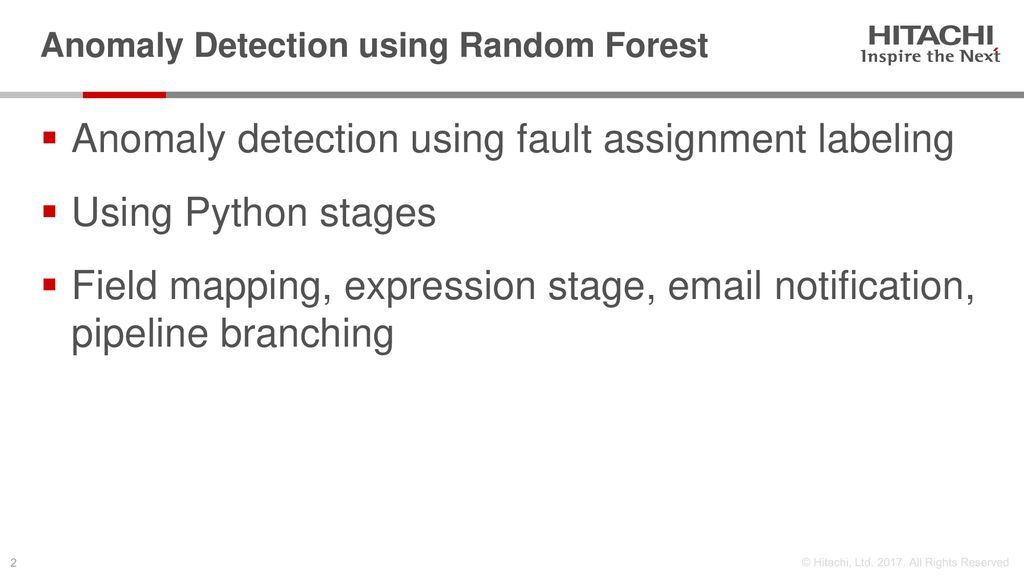 Anomaly Detection using Random Forest - ppt download