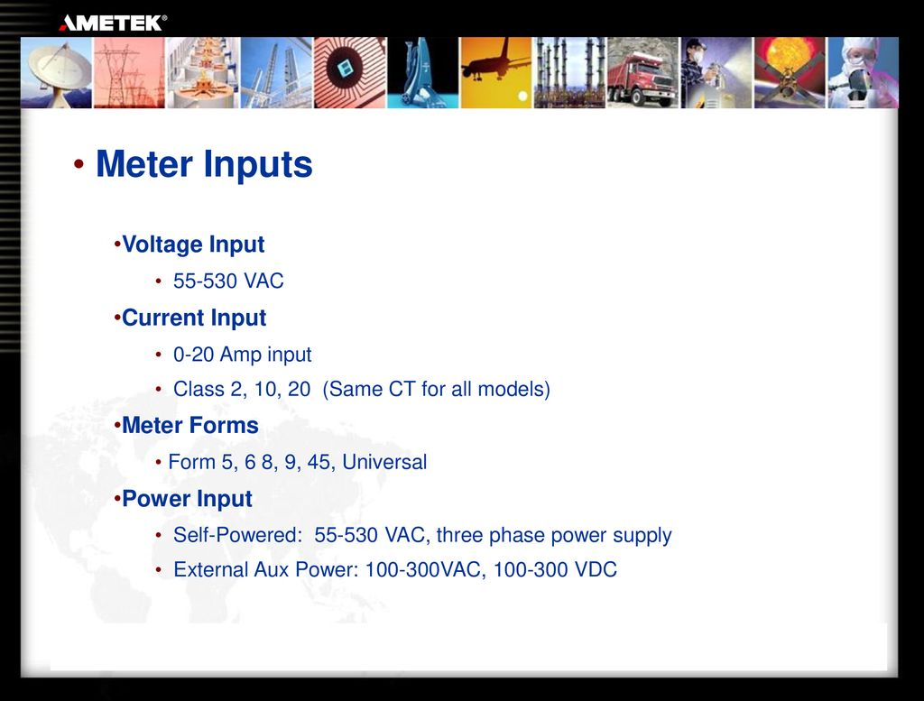 Scientific Columbus Family of Meters - ppt download