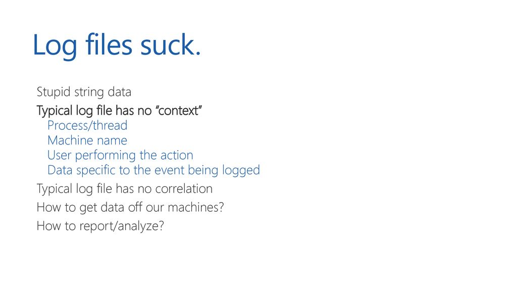 What is going on? Application Diagnostics on Azure - ppt