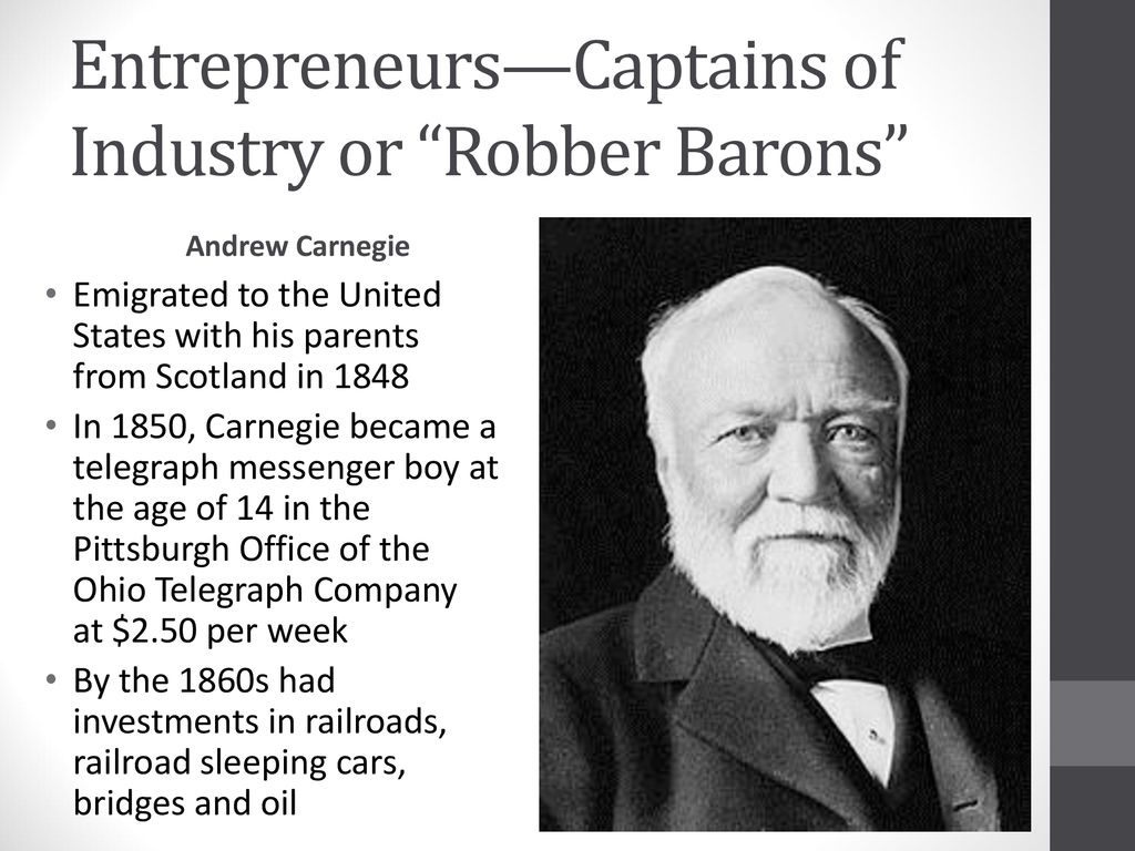 was carnegie a robber baron