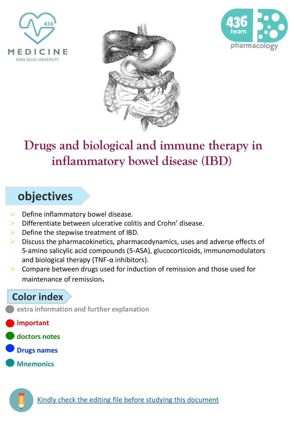 objectives Define inflammatory bowel disease  - ppt download