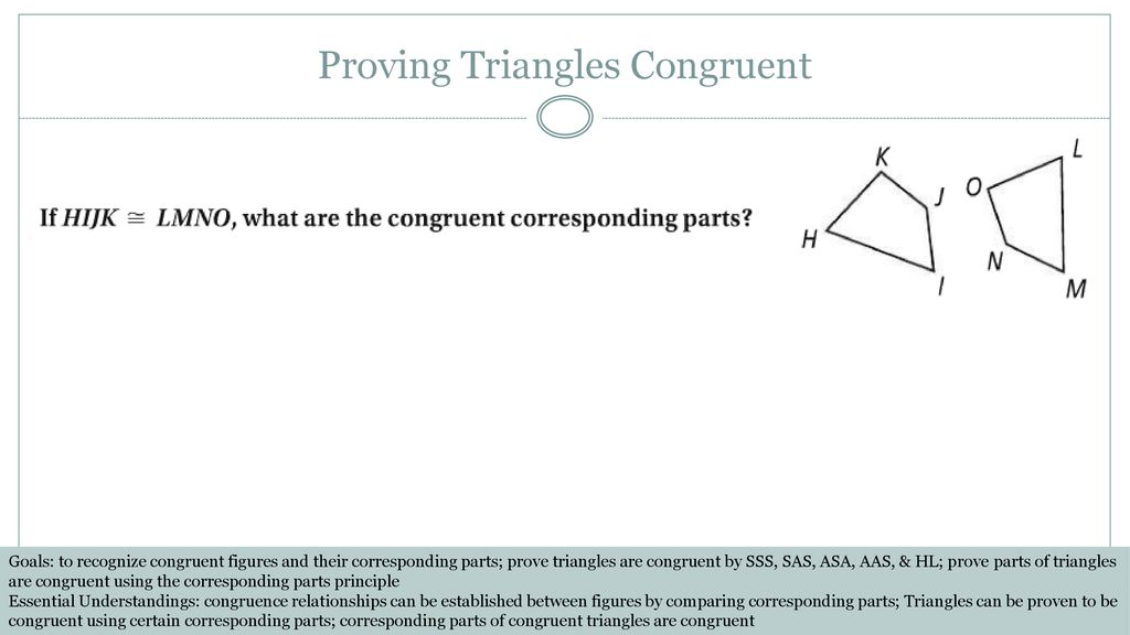 Lessons 25, 28, 30, & 36: Proving Triangles Congruent - ppt ...