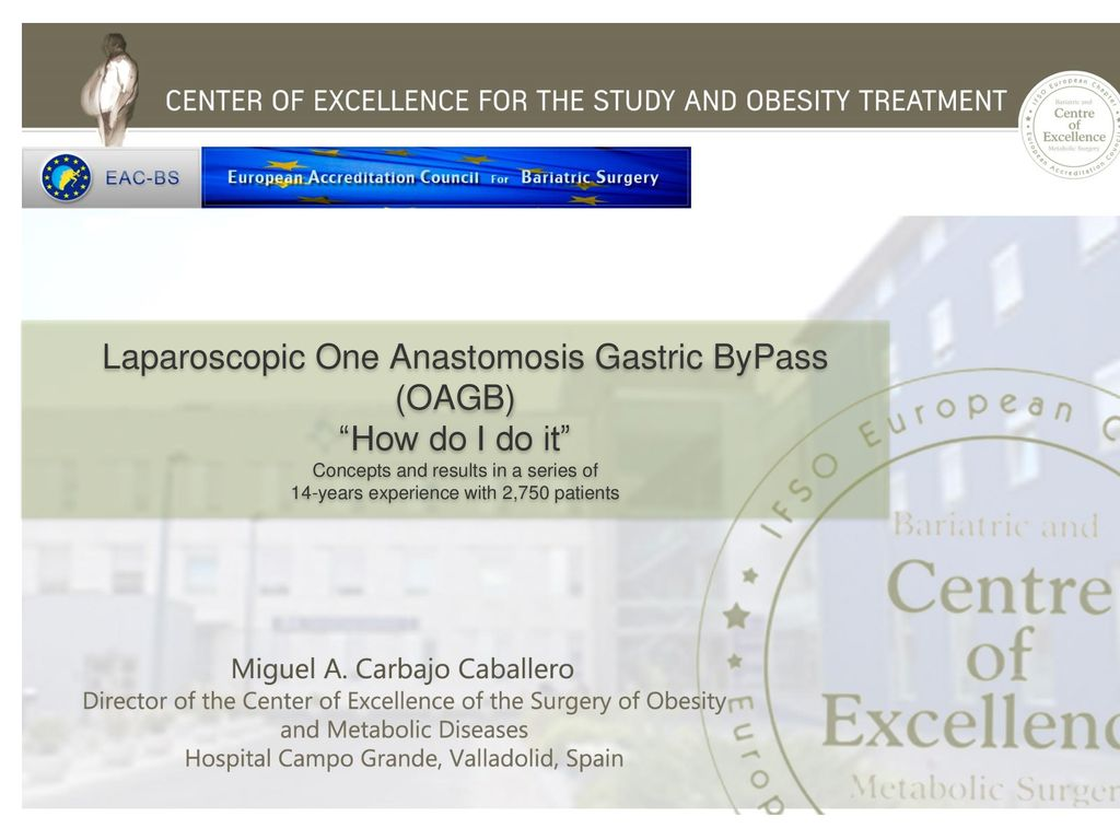 "OAGB) ""How do I do it"" Laparoscopic One Anastomosis Gastric ByPass"