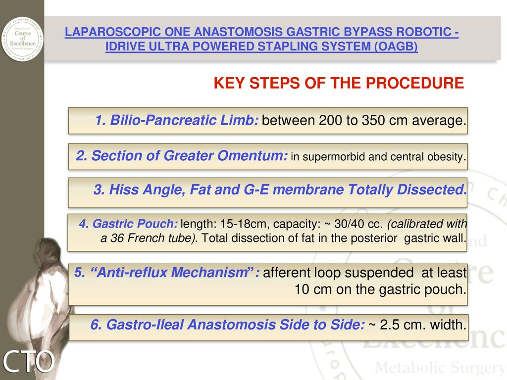 Oagb How Do I Do It Laparoscopic One Anastomosis Gastric Bypass