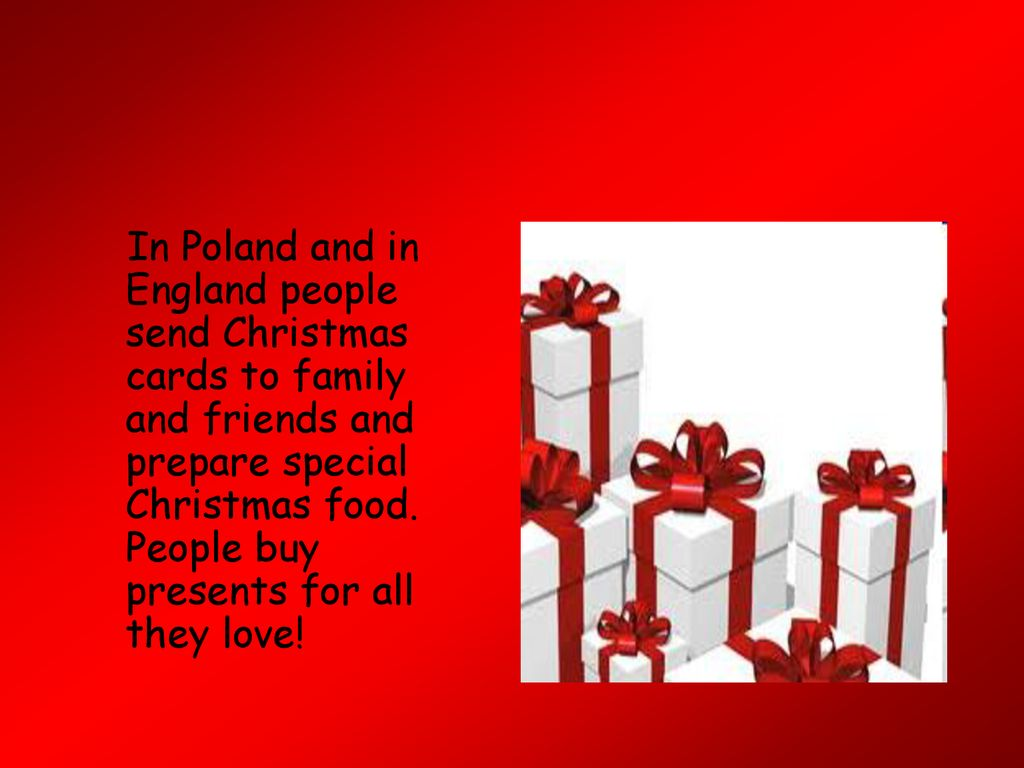 Christmas In Poland And England Ppt Download