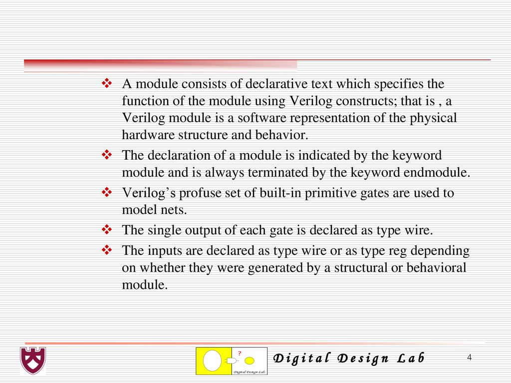 Chapter 4 Combinational Logic Design Using Verilog Hdl Ppt Download Circuits Related Keywords Suggestions Long A