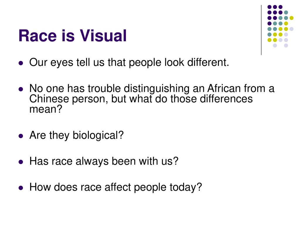 What is Race?  - ppt download