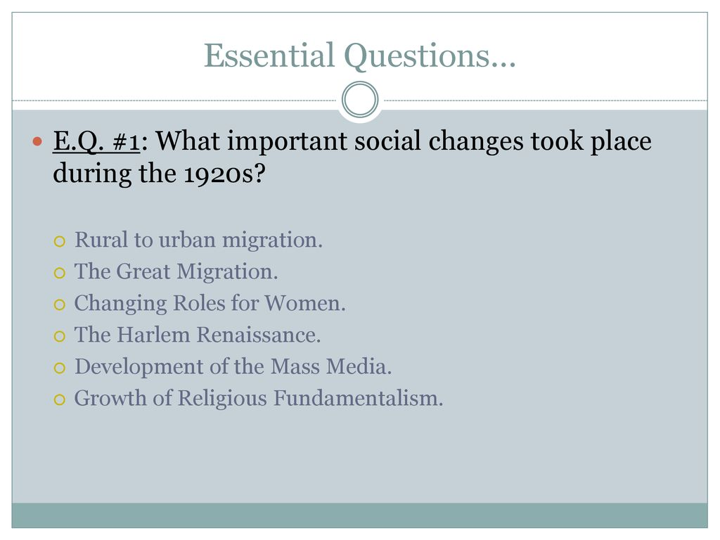 what changes took place during the renaissance