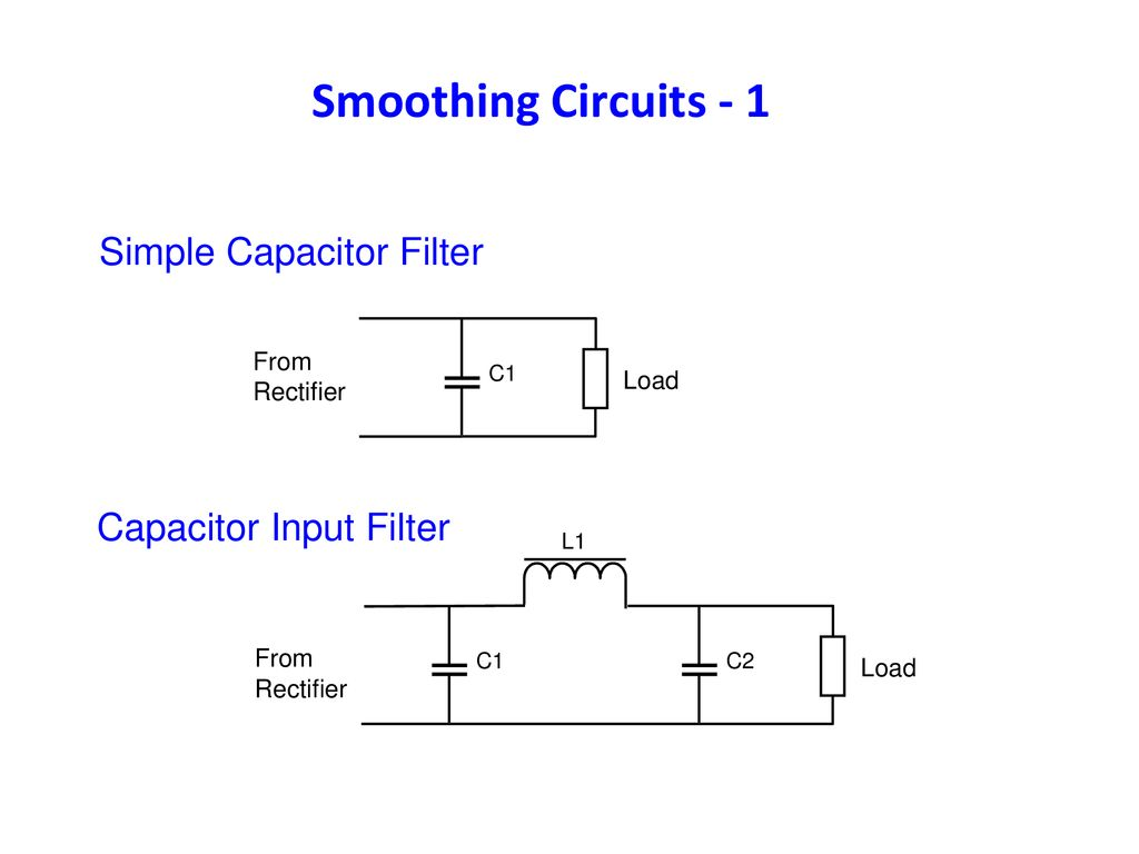 Worksop Amateur Radio Society Advanced Course 9 Safety Adapted Rectifier With Capacitor Filter Public Circuit Online Smoothing Circuits 1 Simple Input