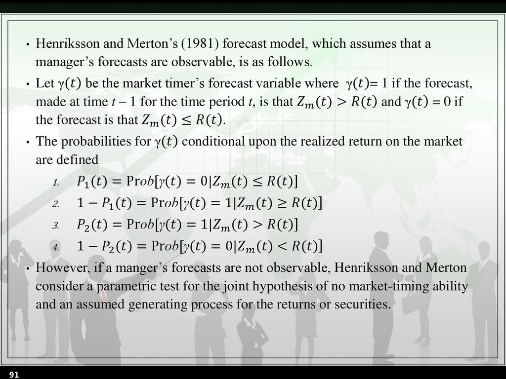 Chapter 21 Security Analysis and Mutual Fund Performance - ppt download