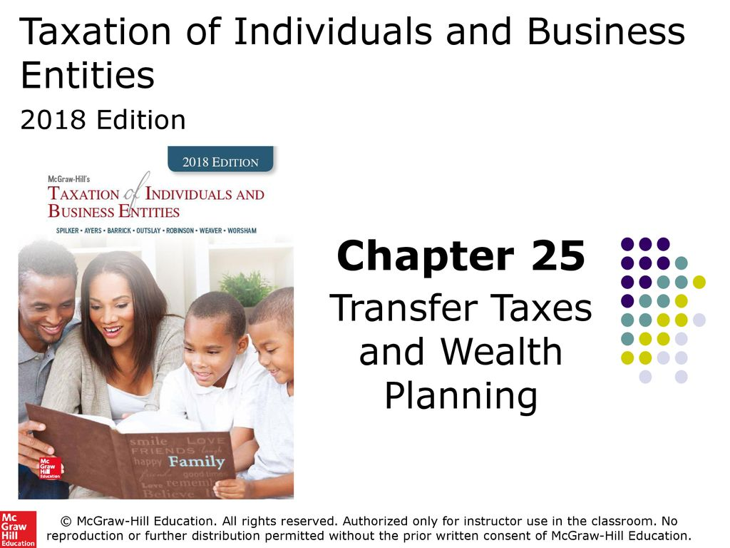 Taxation of Individuals and Business Entities