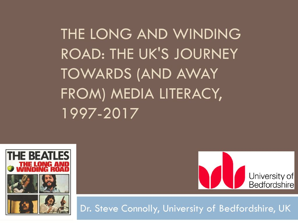 Dr  Steve Connolly, University of Bedfordshire, UK - ppt