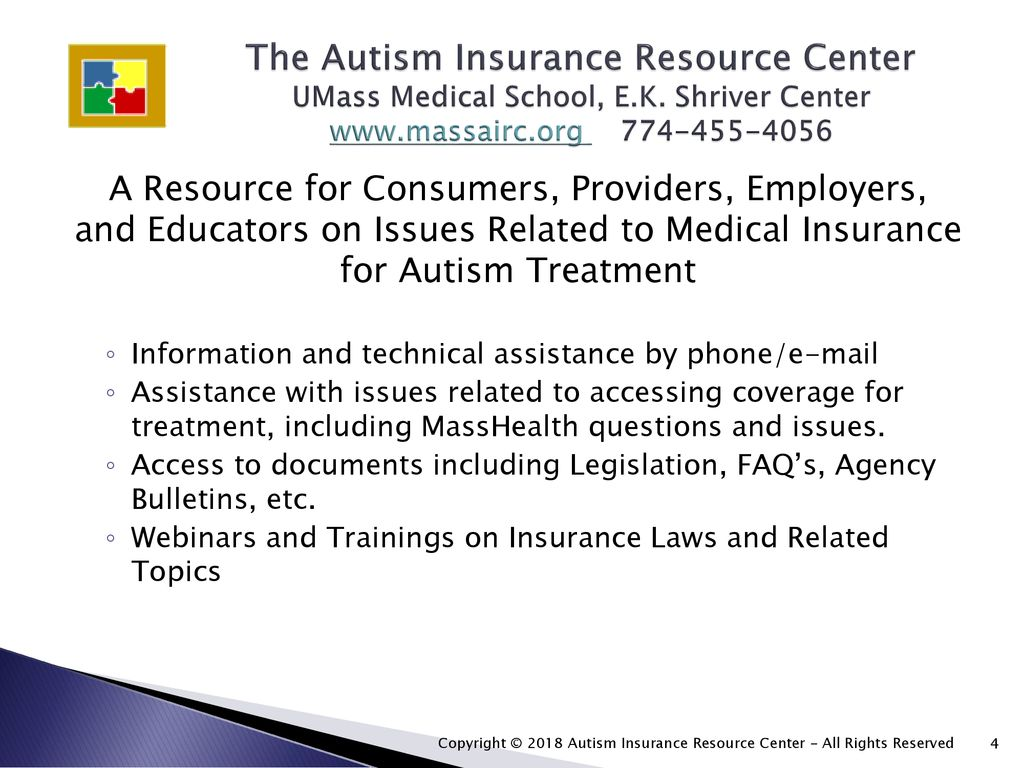 Autism Insurance Arica And Health >> Healthcare Coverage For Adults With Autism January 20 Ppt Download