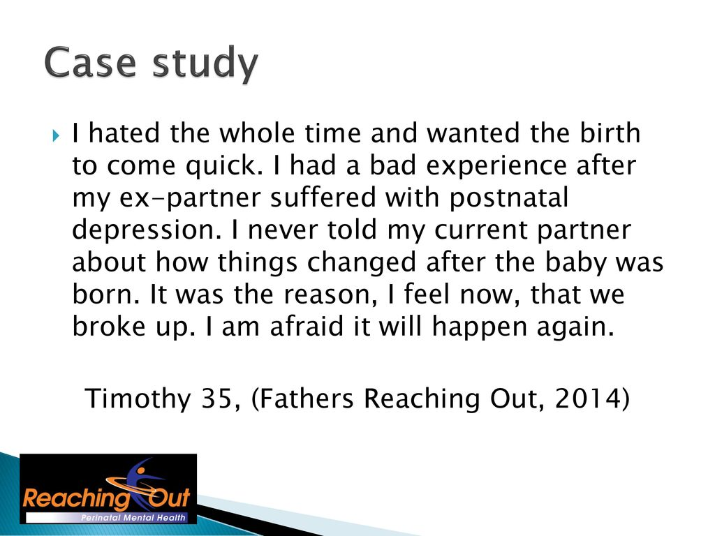 The importance of Fathers Mental Health  - ppt download