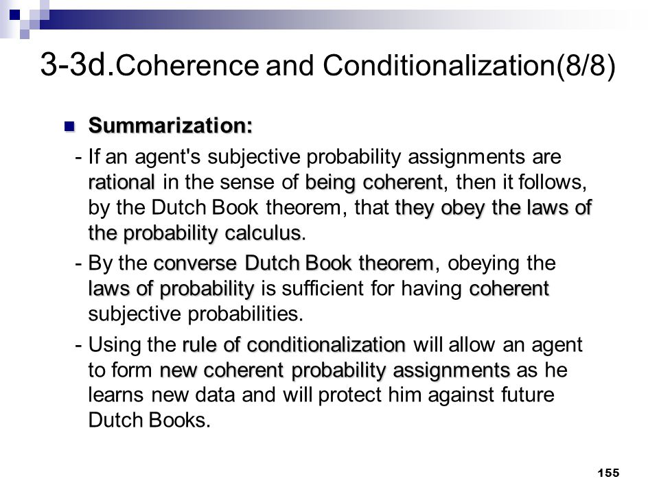 3-3d.Coherence and Conditionalization(8/8)