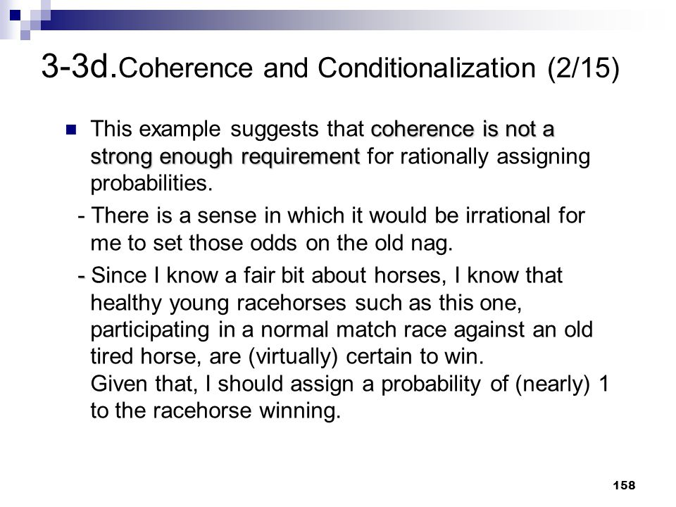 3-3d.Coherence and Conditionalization (2/15)
