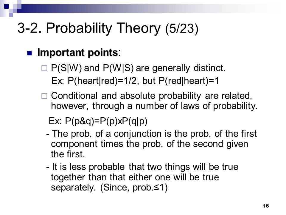3-2. Probability Theory (5/23)