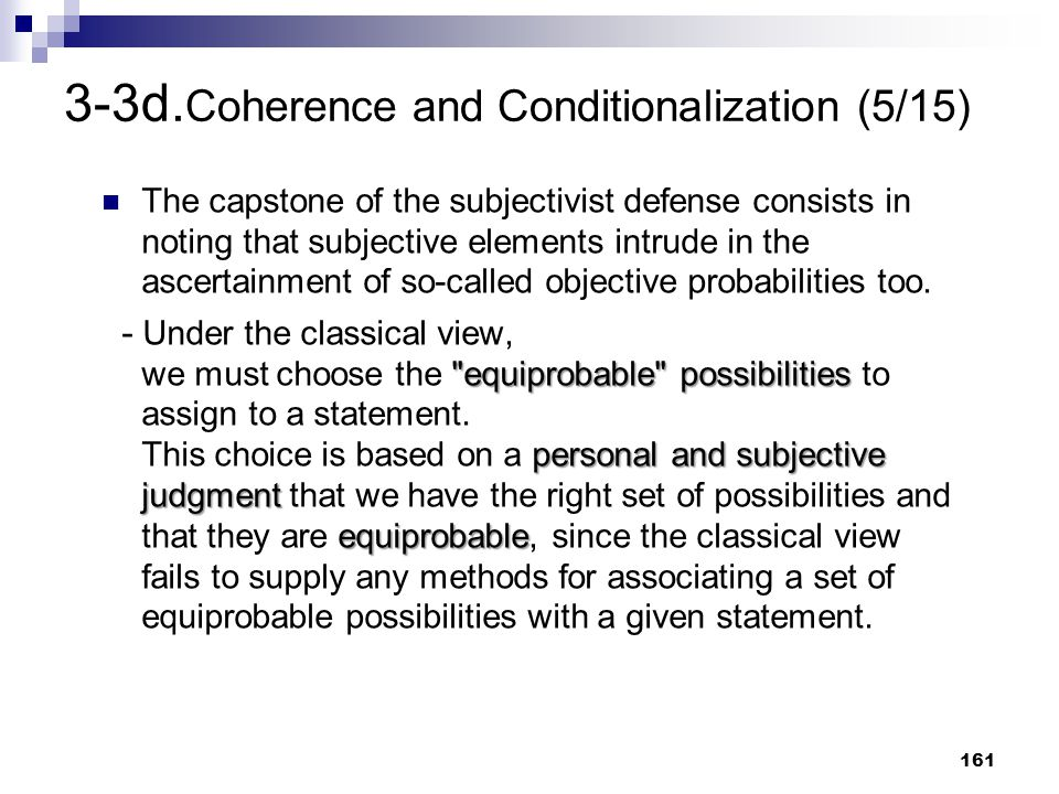 3-3d.Coherence and Conditionalization (5/15)