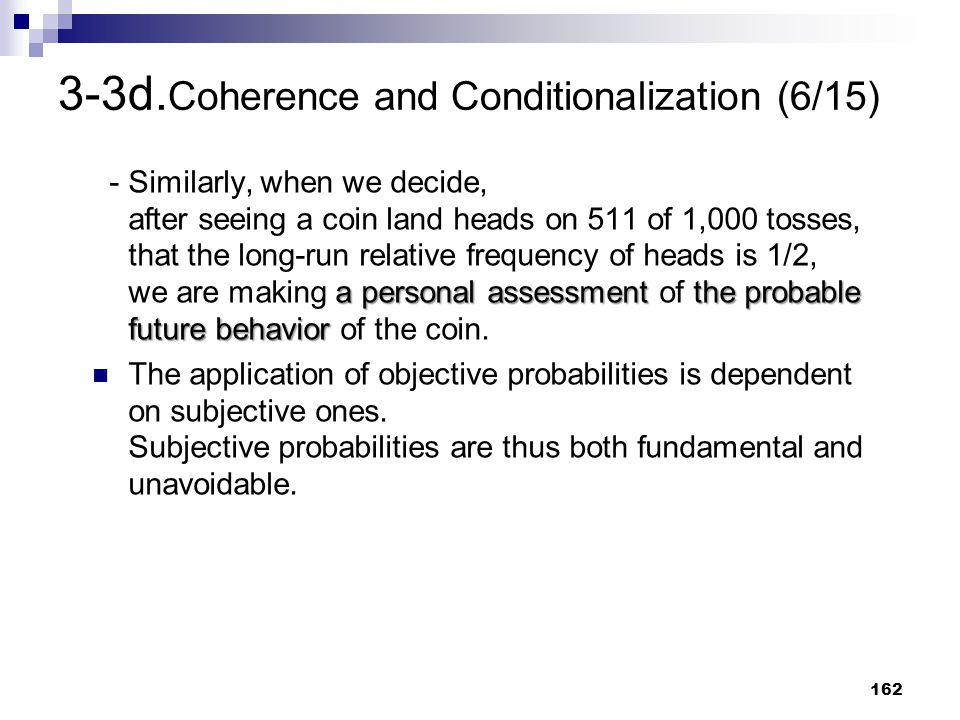 3-3d.Coherence and Conditionalization (6/15)