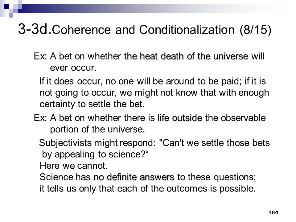 3-3d.Coherence and Conditionalization (8/15)
