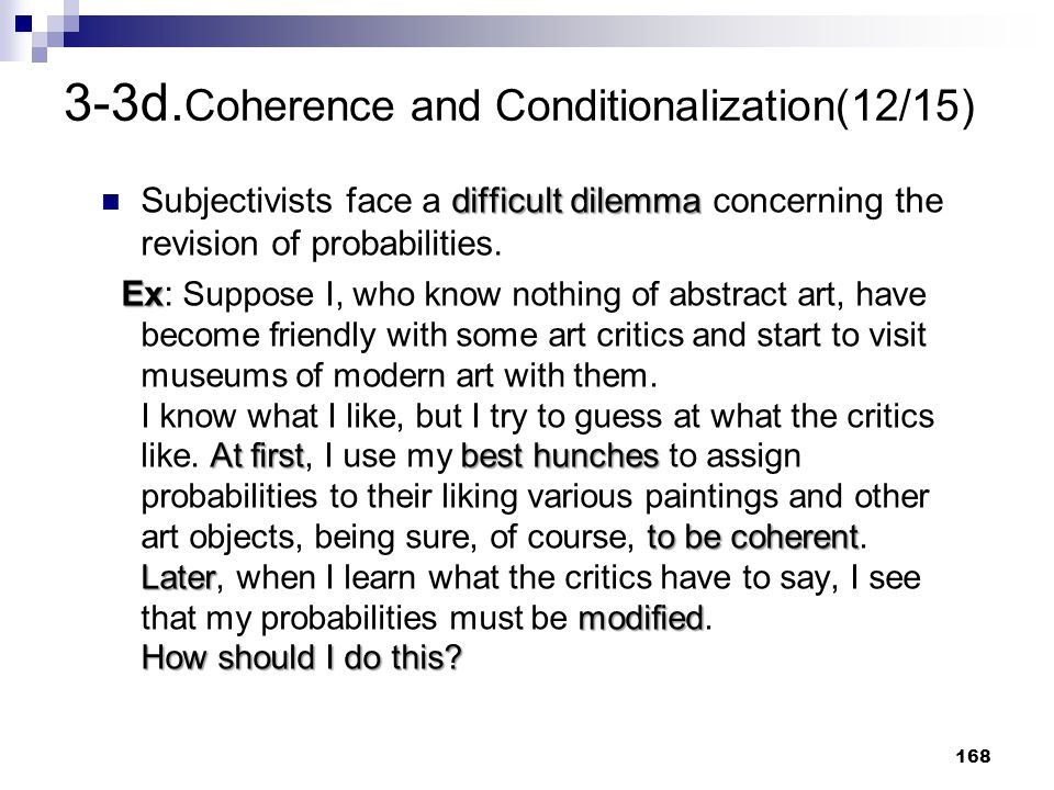 3-3d.Coherence and Conditionalization(12/15)
