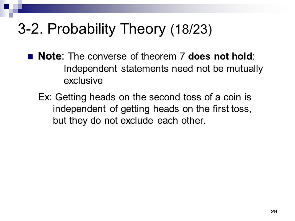 3-2. Probability Theory (18/23)