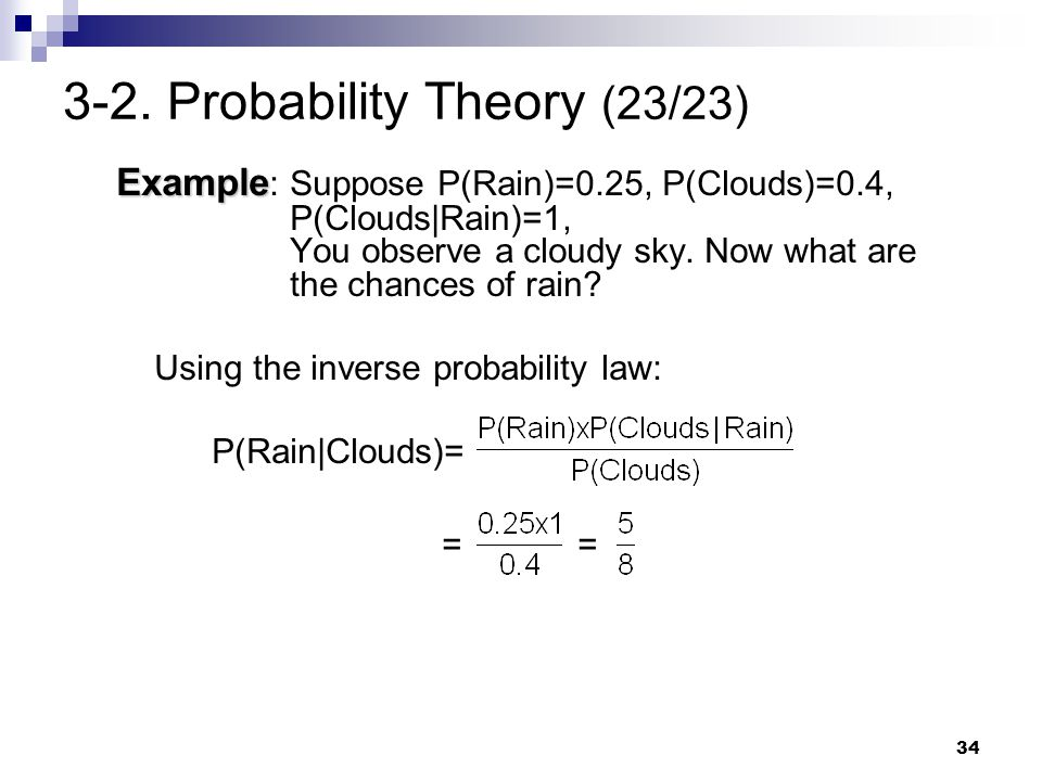 3-2. Probability Theory (23/23)