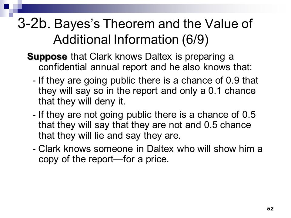 3-2b. Bayes's Theorem and the Value of Additional Information (6/9)
