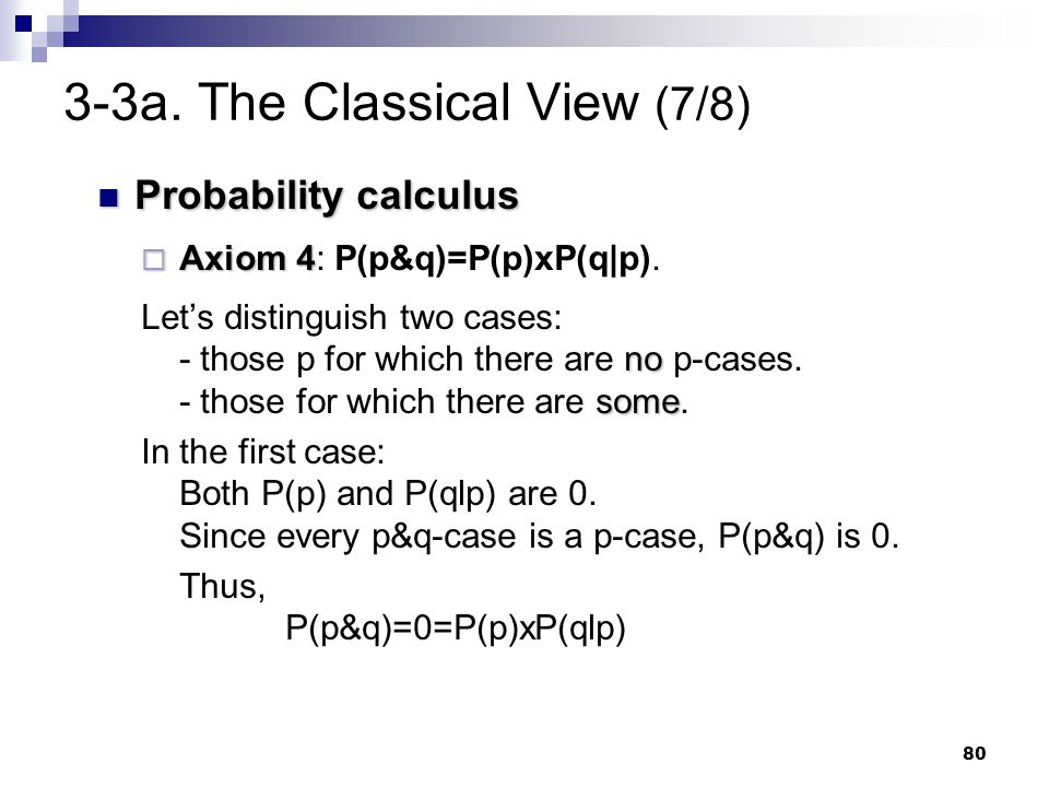 3-3a. The Classical View (7/8)