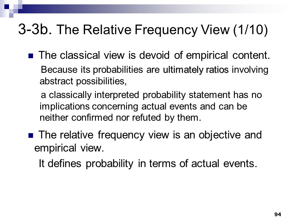 3-3b. The Relative Frequency View (1/10)