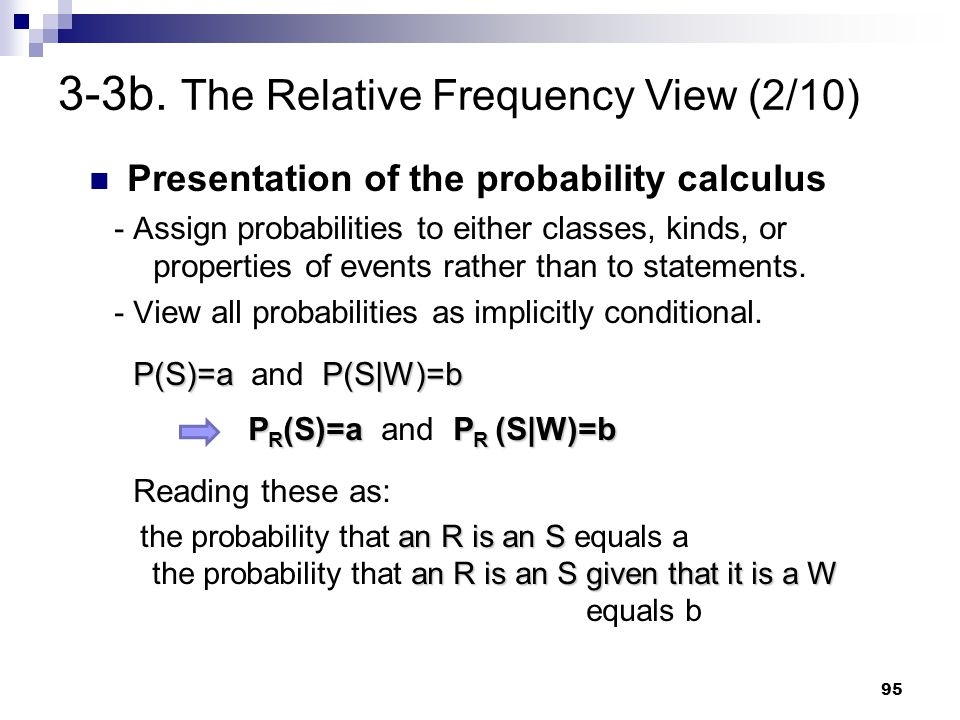 3-3b. The Relative Frequency View (2/10)