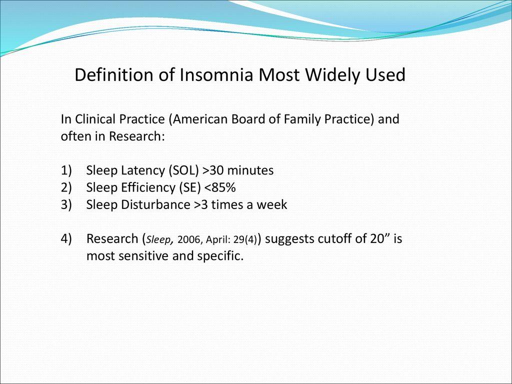 z score neurofeedback for insomnia - ppt download