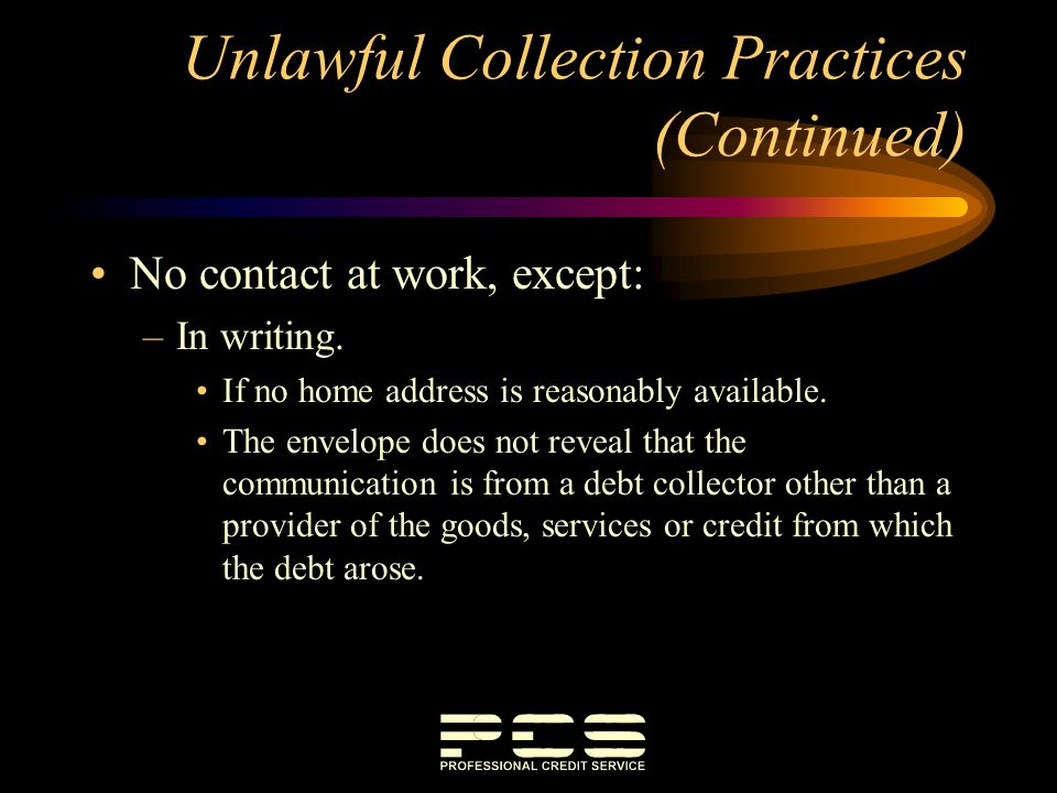 Collection Under the Oregon Unlawful Debt Collection