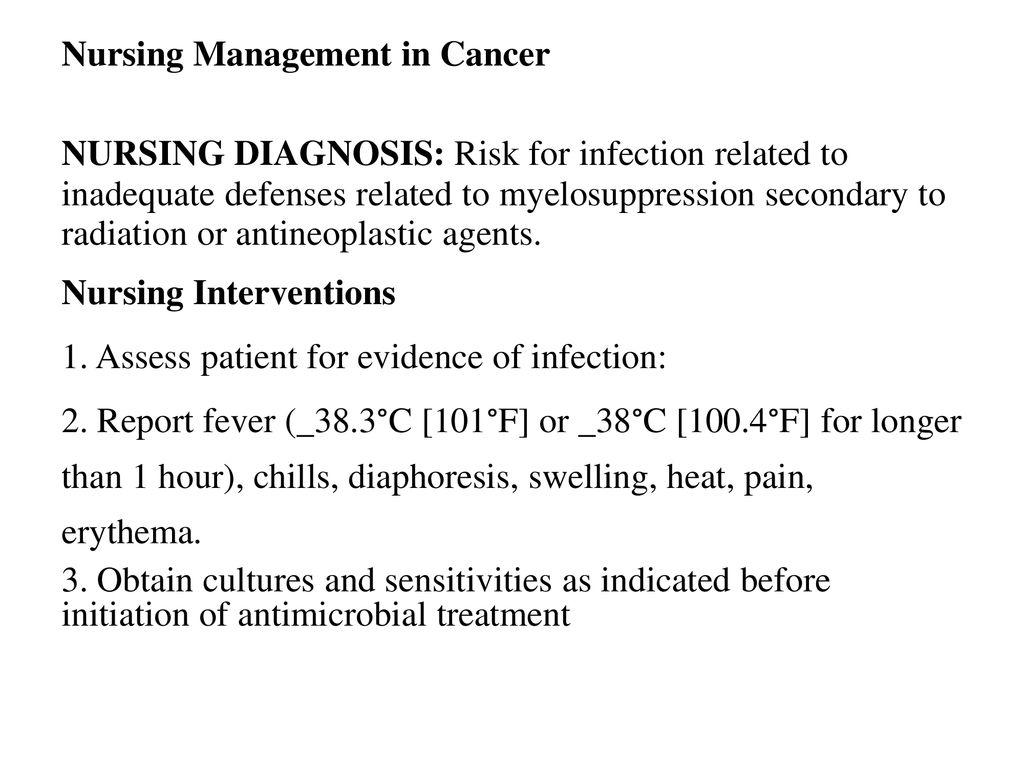 Nursing Management In Cancer Care - ppt download