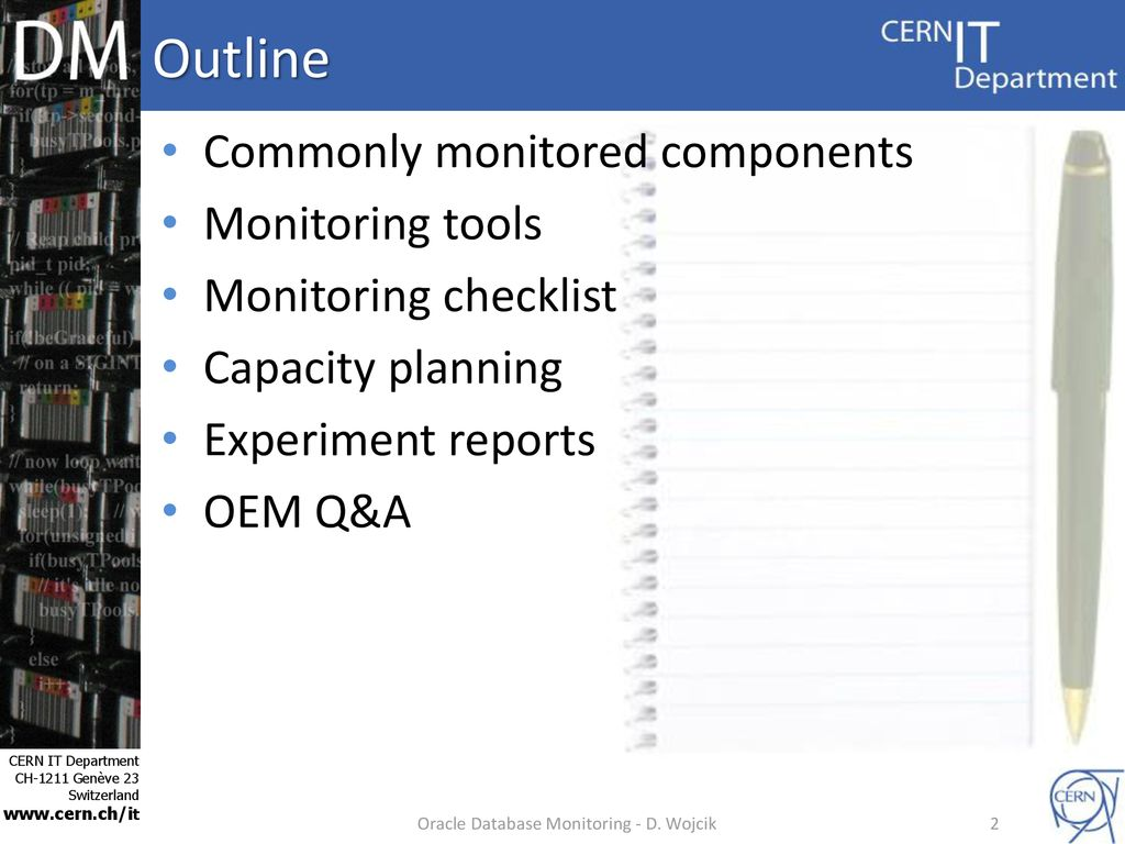Oracle Database Monitoring and beyond - ppt download