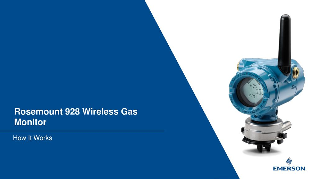 Rosemount 928 Wireless Gas Monitor - ppt download