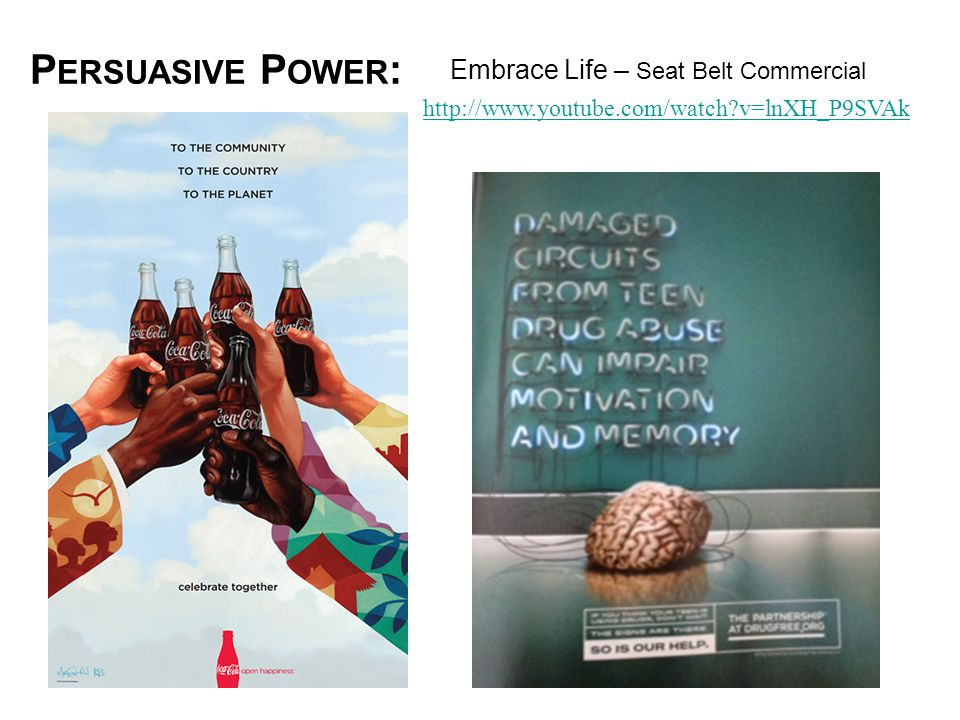 Persuasive Power: Embrace Life – Seat Belt Commercial