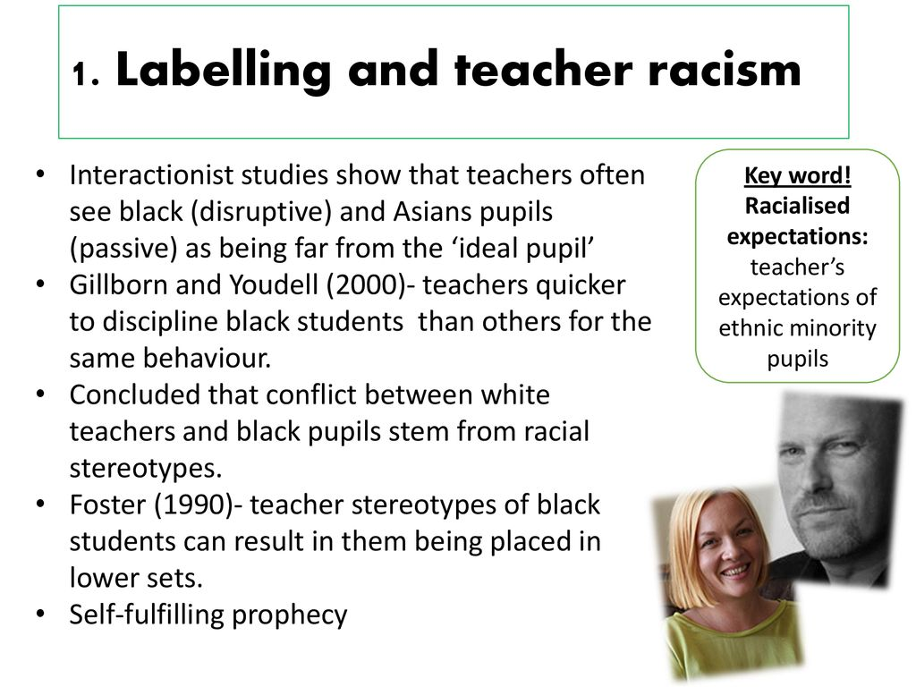 Teachers Lower Expectations For Black >> Ethnic Differences In Achievement Ppt Download